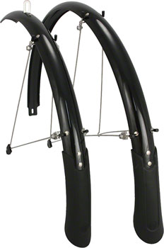 Planet Bike Cascadia 700c x 45 Fender Set: Black (700c x 25-35)