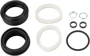Black Flangeless 32mm x 41mm Seal Fits RockShox Dust Seal//Foam Ring Set Bluto//