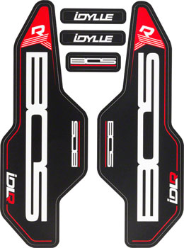 Bos Suspension Fork Decal Kit for Idylle Air