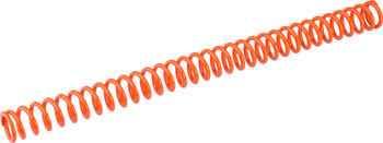 Bos Suspension Idylle 380mm Spring (130-180 lb Rider Weight), Orange