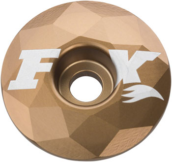 Fox Crystal Design Stem Cap, Kashima Gold