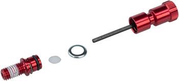 RockShox Rebound Adjuster Knob//Bolt Kit Aluminum Red Short