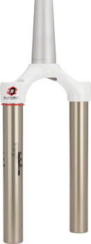 RockShox 2008-12 80-100mm SID Dual Air Crown/Steerer/Upper Assembly, Tapered Steerer, White