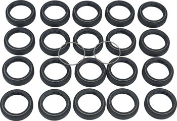 RockShox Pike / Lyrik B1 / Yari / BoXXer / Domain Dual Crown Dust Seal, 35mm SKF Black, Qty 20