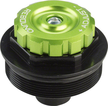 DVO Emerald Rebound Top Cap Assembly and Adjuster Knob