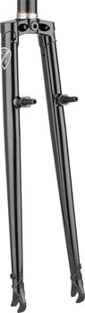 All-City Nature Boy Straight Blade Cross Fork-Black