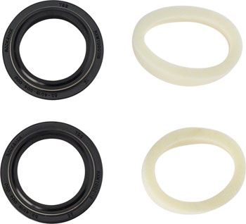 RockShox Dust Seal/Foam Ring: Black Flanged 32mm Seal, 10mm Foam Ring - Revelation A3