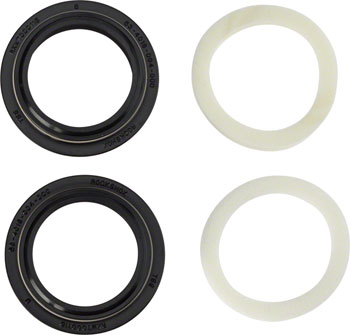 RockShox Dust Seal/Foam Ring: Black Flanged 32mm Seal, 5mm Foam Ring - SID A1-A3 /Reba A1-A4