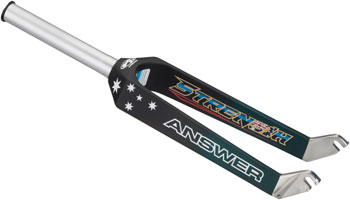 "Answer BMX Pro 20"" Sam Willoughby Limited Edition Dagger Fork Black"