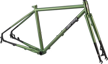 All-City Macho Man Disc 650b Frameset 46cm, Olive Fab