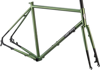 All-City Macho Man Disc 700c Frameset 52cm, Olive Fab