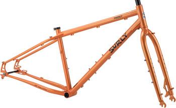 Surly Pugsley Frameset XL Candied Yam Orange