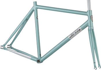 All-City 46cm Aluminum Thunderdome Frameset, Mint