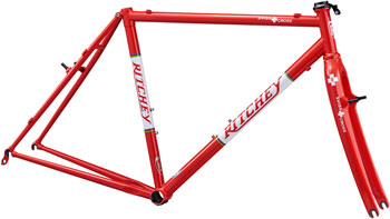 Ritchey SwissCross Canti Frameset: Small, Red