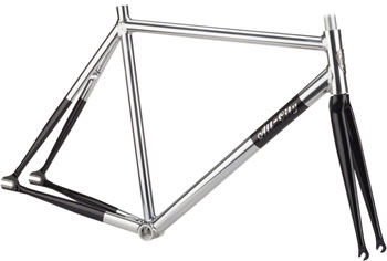 All-City 52cm Thunderdome Polished Aluminum Frameset