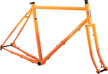 All-City Gorilla Monsoon Frame 46cm Orange Fade