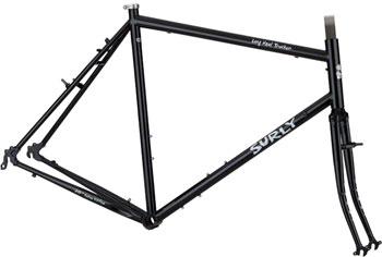 Surly Long Haul Trucker Frameset 62cm 700c Blacktacular
