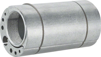 Problem Solvers Bushnell Eccentric Bottom Bracket - Classic Fat, 100mm x 54mm Silver