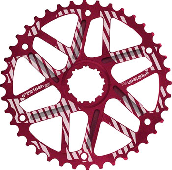 e*thirteen Extended Range Cog 42t Shimano 36t Compatible, Red