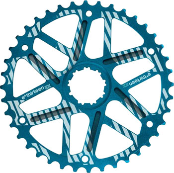 e*thirteen Extended Range Cog 42t Shimano 36t Compatible, Blue