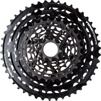 e*thirteen by The Hive TRSr Cassette - 11 Speed, 9-46t, Black, For XD Driver Body