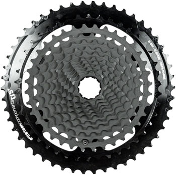 e*thirteen by The Hive TRS Plus Cassette - 12 Speed, 9-50t, Black, For XD Driver Body