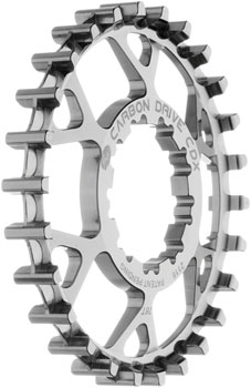 Gates Carbon Drive CDX CenterTrack Rear Sprocket: 26 tooth, Compatible with 9-spline Shimano Freehub