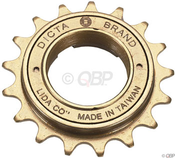 Dicta Standard BMX Freewheel - 16t, Gold