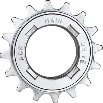 "ACS Main Drive Freewheel, 16t 1/8"" Silver"