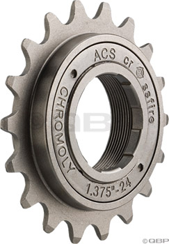 "ACS Crossfire Freewheel, 19t 3/32"" Gun Metal"