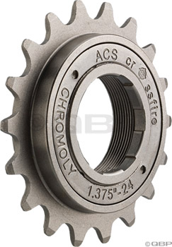 "ACS Crossfire Freewheel, 22t 3/32"" Gun Metal"