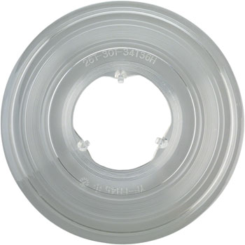 Freehub Spoke Protector 26-30 Tooth, 3 Hook, 36 Hole Clear Plastic