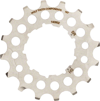 Wolf Tooth 16T Cog for use with Shimano or SRAM GC Cogs