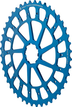 Wolf Tooth GCX XX1 Replacement Cog 44T, Blue