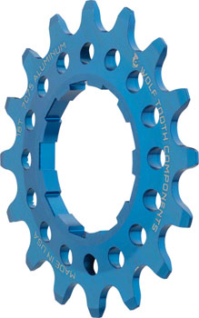 Wolf Tooth Single Speed Aluminum Cog: 16T, Compatible with 3/32
