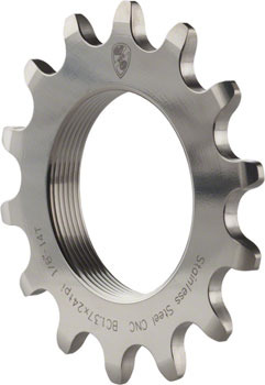 "All-City 14T x 1/8"" Track Cog Stainless"