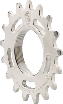 "All-City 16T x 1/8"" Track Cog Stainless"