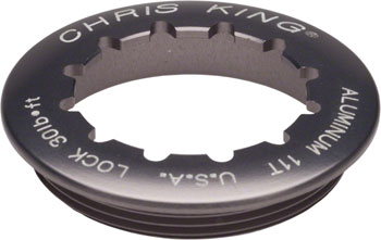 Chris King Aluminum Lock Ring for R45 Shimano Hubs, 11 Tooth