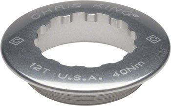 Chris King Aluminum Lock Ring for R45 Campy Hubs, 11 Tooth