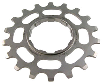 Chris King Stainless Steel Single Speed Cog, 19 Tooth 3/32""