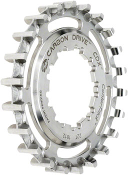 Gates Carbon Drive CDX CenterTrack Rear Sprocket: 20 tooth, Compatible with 9-spline Shimano Freehub