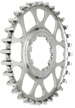 Gates Carbon Drive CDX CenterTrack Rear Sprocket: 28 tooth, compatible with  9-spline Shimano Freehub