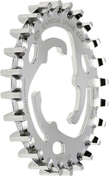 Gates Carbon Drive CDX CenterTrack Rear Sprocket: 24 tooth, SureFit, compatible with Nexus/Alfine