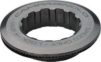 Campagnolo/ Fulcrum 27.0mm Aluminum Lockring for 12t First Cog, Campagnolo 11-speed Cassettes Only