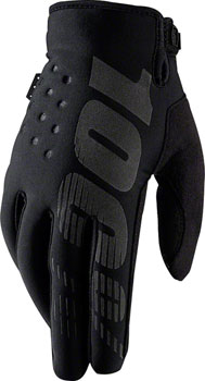 100% Brisker Cold Weather Glove: Black, 2XL