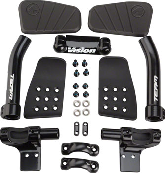 Vision Team Mini Clip On Aero Bars Black