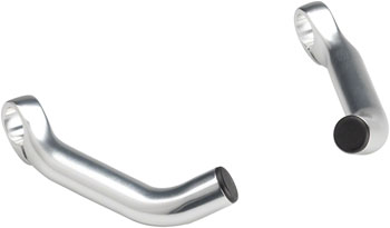 Dimension Forged Bar Ends Short Silver