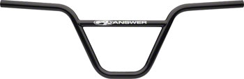 "Answer BMX Chromoly Pro 8.25"" Handlebar, Black"
