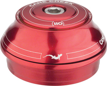 Cane Creek 110 ZS44/28.6 Tall Cover Top Headset Red