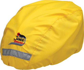 Jandd Helmet Cover Yellow, Regular Size